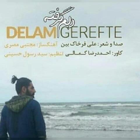 دانلود موزیک جدید علی فرخاک بین دلم گرفته